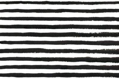 Bild Aquarell schwarzem Streifen Grunge-Muster.
