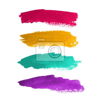 Bild Aquarell Streifen Für Design