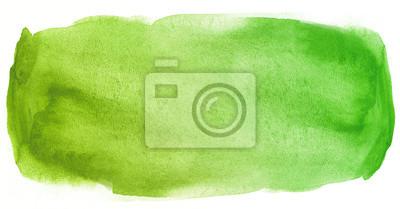 Bild Aquarellbeschaffenheits-Fleckgrün mit Wasserfarbflecken und nasser Farbe