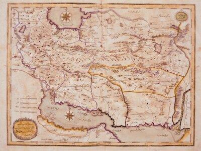Bild Arabic old map