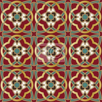 Bild Arabisch nahtlose Muster