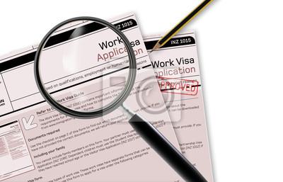 Arbeiten Visa Application
