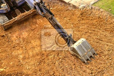 Bild Arbeits Bagger Traktor