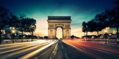 Bild Arc de Triomphe Paris Frankreich