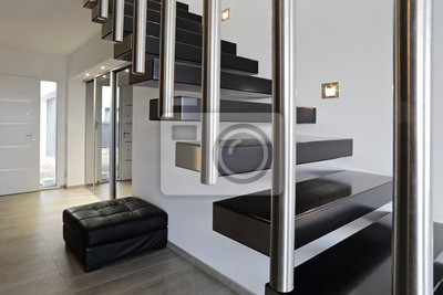 Architektur escalier moderne intérieur maison design ...
