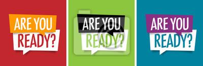 Bild Are you ready ?