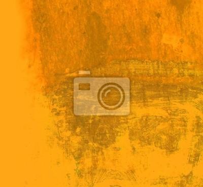 Art Grunge-Hintergrund in orange Farbe.