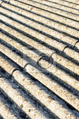 Asbest Dach Eternit Leinwandbilder Bilder Asbest Schadstoff
