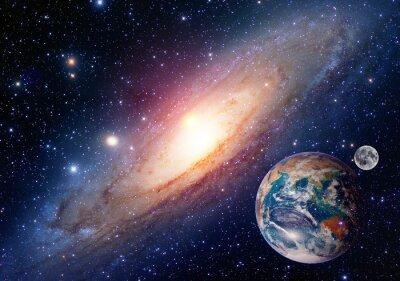 Bild Astrologie Astronomie Erde Mond Raum Urknall Sonnensystems Planeten Schöpfung. Elemente dieses Bildes von der NASA eingerichtet.
