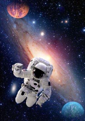 Bild Astronaut spaceman Weltraum Menschen Galaxie Planet Sonnensystem Universum. Elemente dieses Bildes von der NASA eingerichtet.