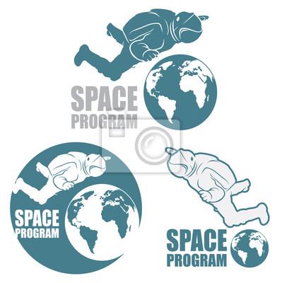 Astronaut Zeichen