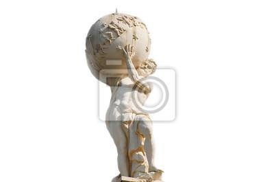 Bild Atlas God Statue