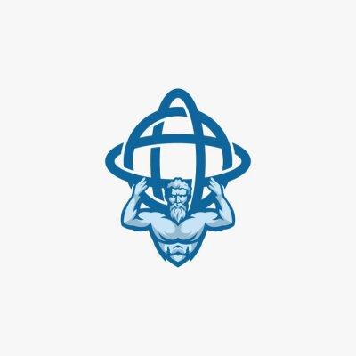 Bild Atlas illustration vector abstract logo