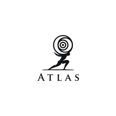 Bild Atlas logo design vector
