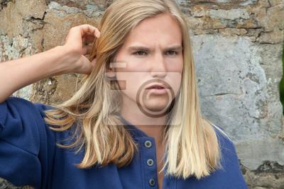 Mann haare lange blonde 20 blonde