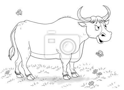 Auf Dem Bauernhof Malbuch Malvorlage Leinwandbilder Bilder