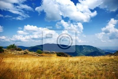 Auf der Spitze des Berges