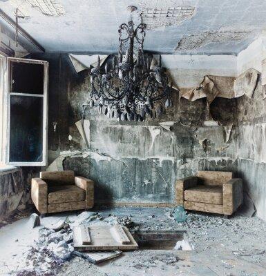 Bild aufgegeben Innenraum