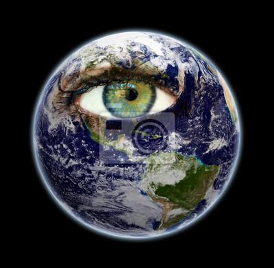 Auge der Erde