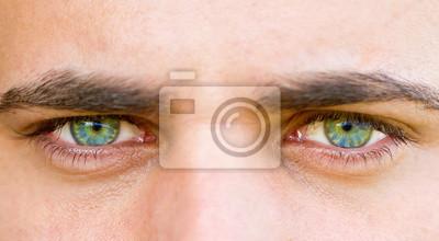 Augen eines Mannes,