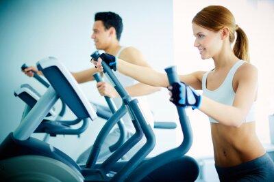 Bild Ausbildung im Fitness-Club