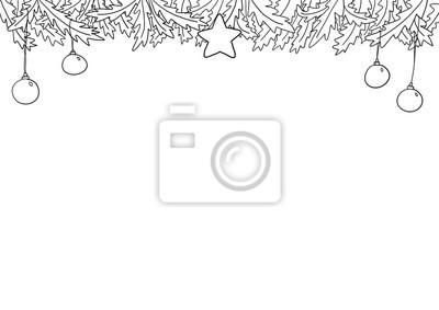 Ausmalbilder Frohe Weihnachten.Bild Ausmalbild Weihnachten