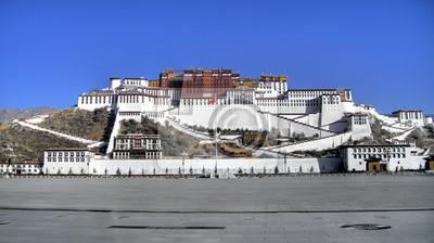 Bild Außenansicht des heiligen Potala-Palast in Lhasa, Tibet, China