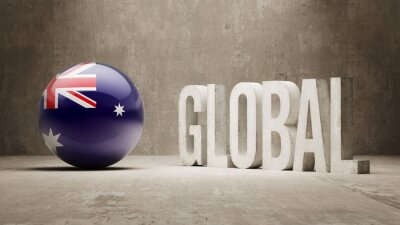 Australien. Globales Konzept.