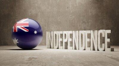 Australien. Unabhängigkeitskonzept.