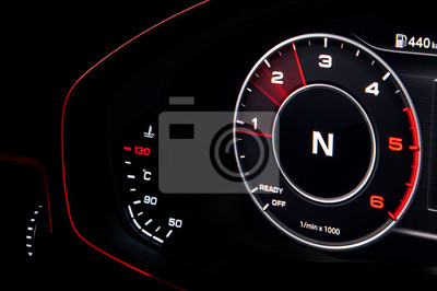 Armaturenbrett auto  Auto geschwindigkeitsmesser tacho auto armaturenbrett auto leistung ...