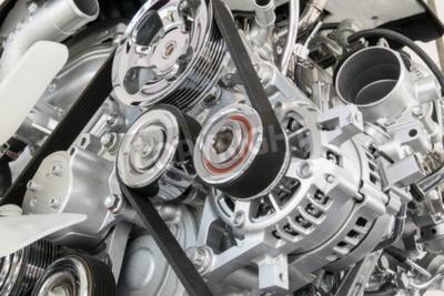 Bild Auto Motor Großansicht Teil des Autos Motor