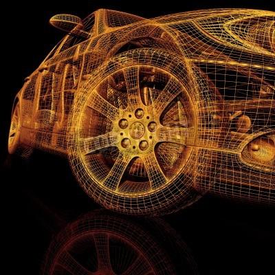 Bild Autos des Modells 3d