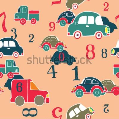 Bild Autos und Ziffern