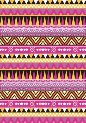 Aztec Nahtlose Muster 1