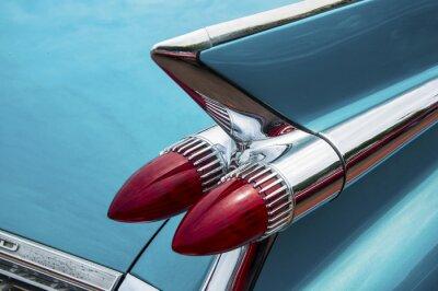 Bild Back of Vintage Car