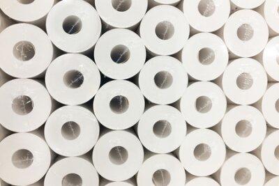 Bild Background from paper rolls