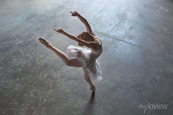 Bild Ballerina zuhause