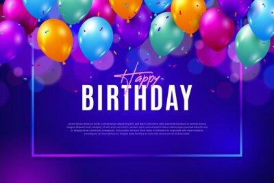 Bild Ballon Happy Birthday