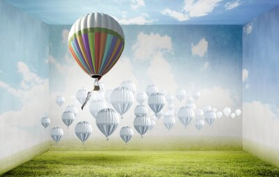 Bild Ballone im Himmel