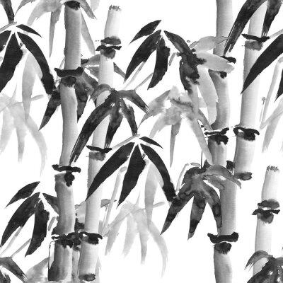 Bild Bambus-Muster