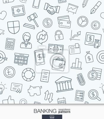 Banken und finanzen wallpaper. schwarz und weiß bank nahtlose ...