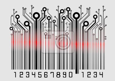 Barcode-Laser
