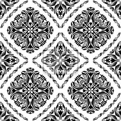 Bild Barock-Muster nahtlose