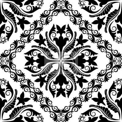 Bild barockes Muster seamless
