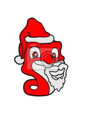 Bart Vater Weihnachten Santa Claus Nikolaus Winter Geschenke