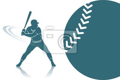 Baseball Hintergrund - Vektor-Illustration