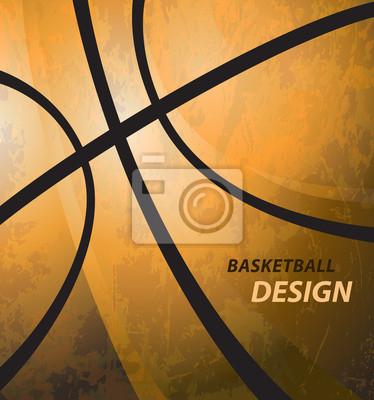 Basketball Hintergrund Grunge