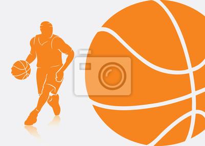 Basketball Hintergrund - Vektor-Illustration