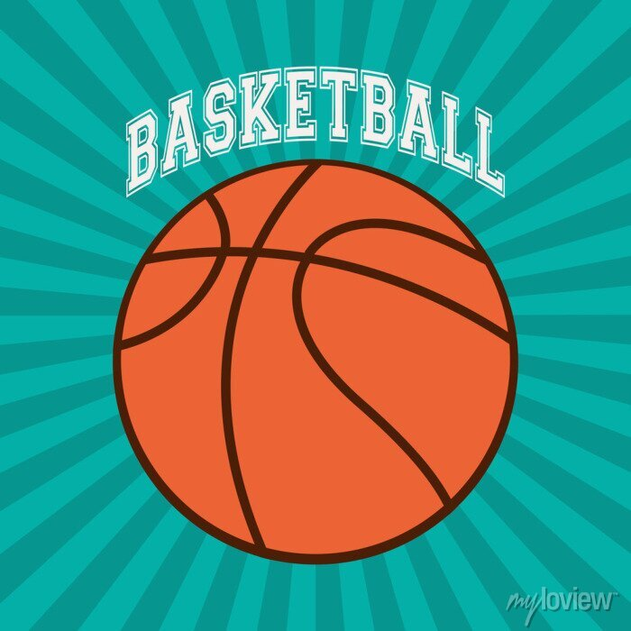 Bild Basketball-Sportentwurf