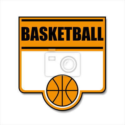 Bild Basketball-Symbol